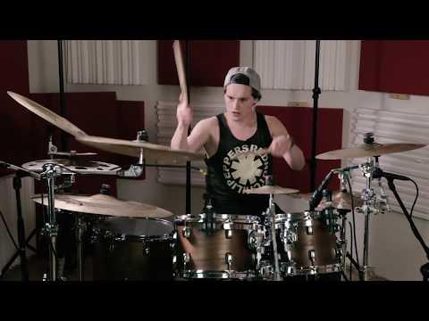 36 Crazyfists - Bloodwork - Jonas Heinrich Drum Cover - YouTube
