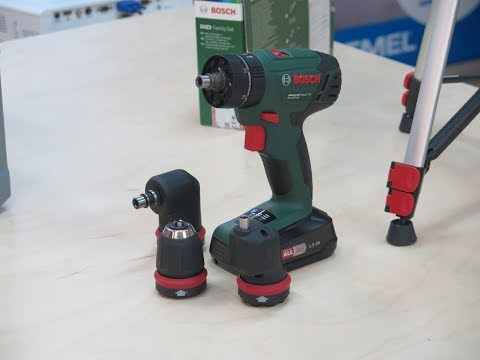 Bosch DIY Академия - NEW! AdvancedImpact 18 QuickSnap (шуруповерт с ударом + 3 насадки)