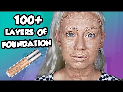 100+ Layers Of Foundation! How Many Applications In Urban Decay Liquid Foundation??