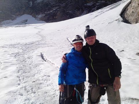 Bergmarsch zur Zugspitze Part II Höllental bis Gletscher