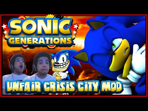 Sonic Generations PC - (1080p 60FPS) Unfair Crisis City Mod w/Facecam