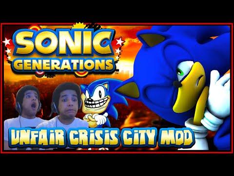 Sonic Generations PC - (1080p 60FPS) Unfair Crisis City Mod w/Facecam