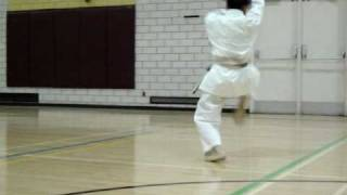 KARATE -DO SHOTOKAN J.K.A. KATA  KANKU DAI