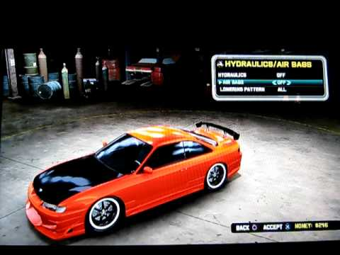 How to completely bag a car on Midnight Club: Los Angeles