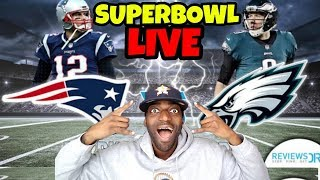 SUPERBOWL 52 LIVE PARTY!!! Patriots vs Eagles!! WHO WILL WIN?