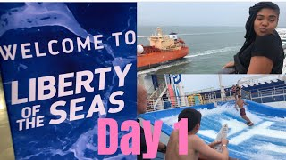 VACATION VLOG DAY 1 : Boarding The Cruise Ship