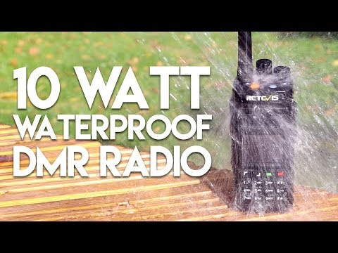 Retevis RT83 - IP67 Waterproof 10 Watt DMR Radio!