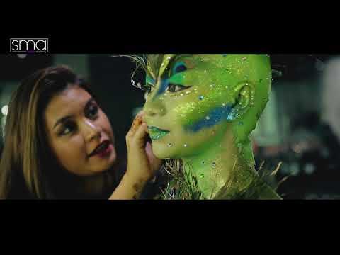 Master Makeup Artistry Exam at SMA - International Makeup School of Bangkok, Yangon and Pune.