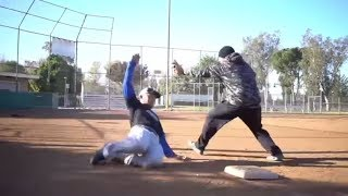 How To Slide In Baseball [THE RIGHT WAY] Without Getting Hurt!
