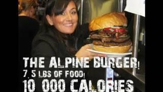 Alpine Burger - 10,000 Calories! | Furious Pete