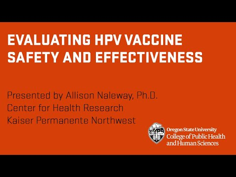 Evaluating HPV Vaccine Safety and Effectiveness