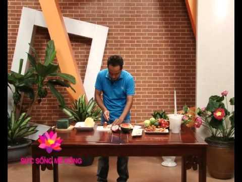 Lãng hoa quả trái cây - Kỹ Năng [VTV Cần Thơ -- 08.03.2013]