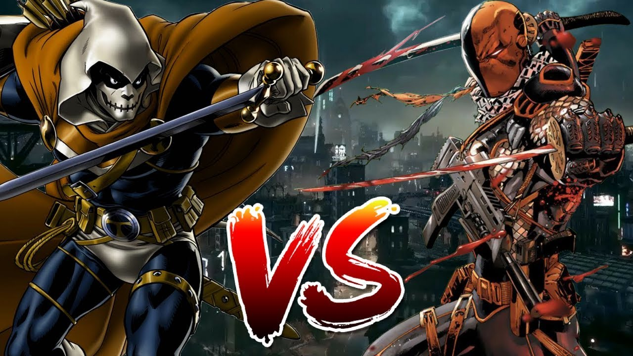 Deathstroke VS Taskmaster Who Wins YouTube