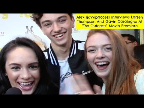 Larsen Thompson And Gavin Casalegno Interview With Alexisjoyvipaccess