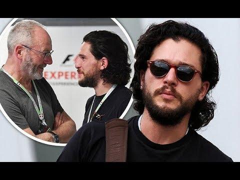 Kit Harington (Jon Snow) & Liam Cunningham (Ser Davos) Interview Grand Prix
