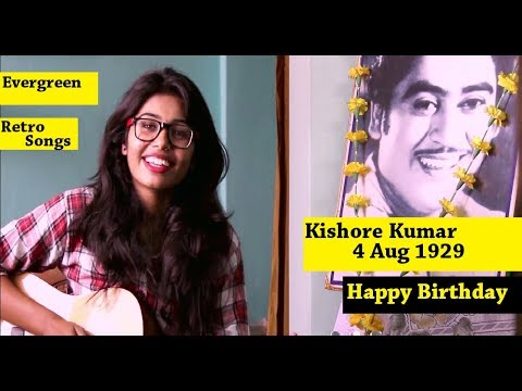 Retro Evergreen Songs Mashup | Kishore Kumar Birthday Special