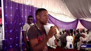 Small Doctor Performs In Church