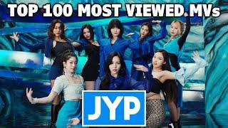 [TOP 100] Most Viewed JYP Music Videos (June 2021)