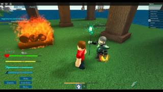 [ROBLOX: Arcane Adventures] - Lets Play Ep 1 - We Have Magic! (Beta)