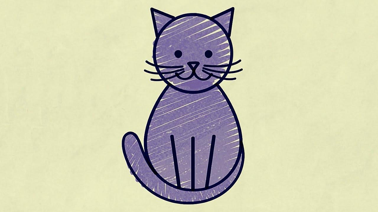 Kotek Rysowane Wierszyki Youtube