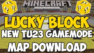 Minecraft Xbox 360/One: LUCKY BLOCK PvP map Download