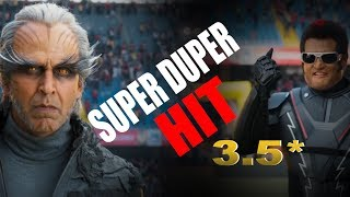 New Bollywood movie 2.0 review || 2.0 Blockbuster 5***** || Rajnikant || Akshay kumar || Amyjackson