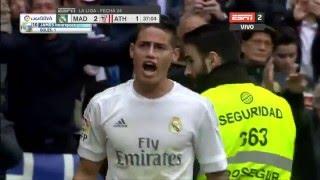que golazo james rodriguez 37 min pt   real madrid vs athletic bilbao   13 2 2016   liga bbva