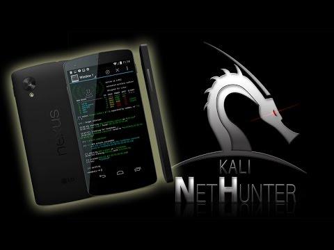 Nexus 5 NetHunter 3.0 Marshmallow Review WiFi