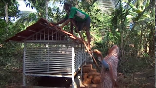 Goat Shed Portable by Dr.Naveen.N