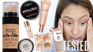 Baixar TESTED 6 NEW DRUGSTORE PRODUCTS - All day wear/Flash Test
