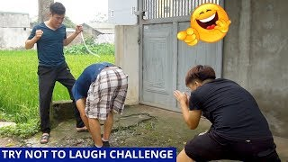 TRY NOT TO LAUGH CHALLENGE | Motorbike Prank | Comedy Videos by Sml Troll Ep.22