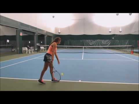 Sydney DeNardo College Tennis Recruiting Video