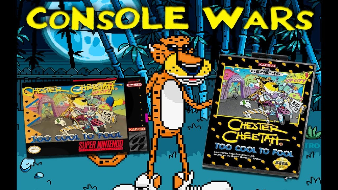 Console Wars – Chester Cheetah Too Cool to Fool – Super Nintendo vs Sega Genesis