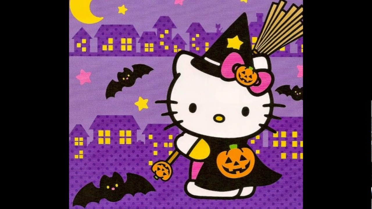 Hello Kitty Wallpaper Ungu Terbaru