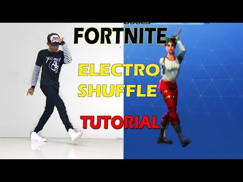 Fortnite Electro Shuffle Step By Step Tutorial | Fortnite Dance In Real Life | Dance FreaX