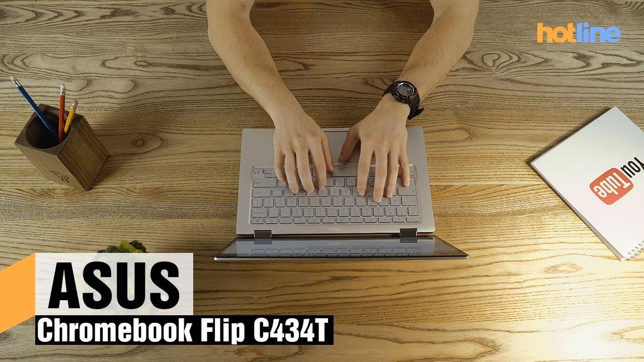 ASUS Chromebook Flip C434 — обзор хромбука премиум-класса
