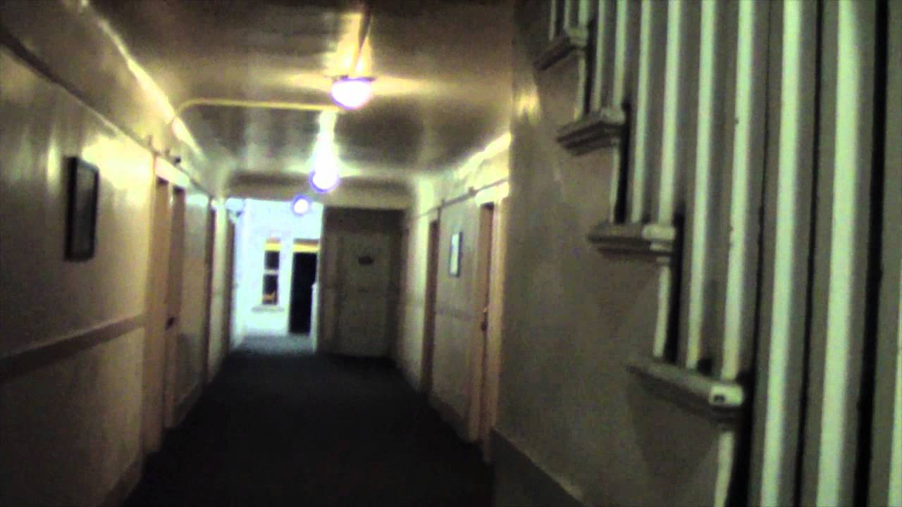 Ghost Caught On Tape Inside Old Apartment Building In LA