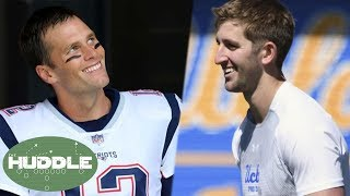 Cocky Josh Rosen Says He Wants 7 Titles If Tom Brady WINS Another Super Bowl! | Huddle