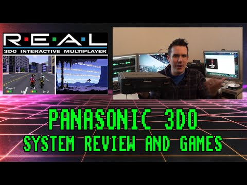 Panasonic 3DO Games Console Review and Games (1993 System)