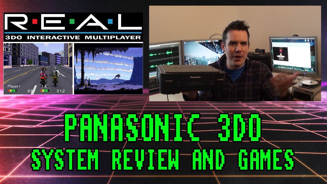 Panasonic 3DO Games Console Review and Games (1993 System ...
