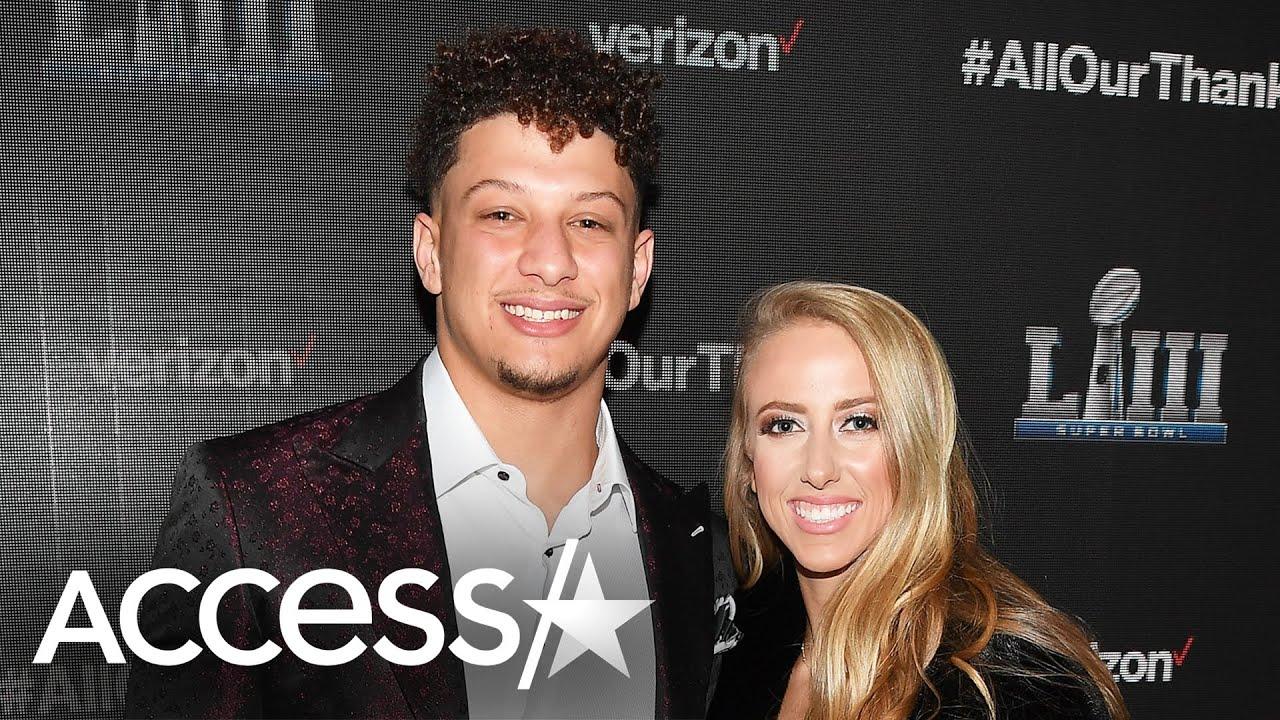 Kansas City Chiefs' Patrick Mahomes, fiancee Brittany Matthews ...