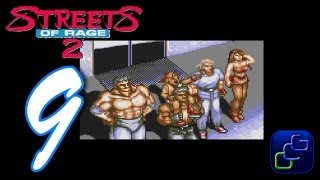 Streets Of Rage 2 Walkthrough - Part 9 - Ending Cutscene and Credit Roll