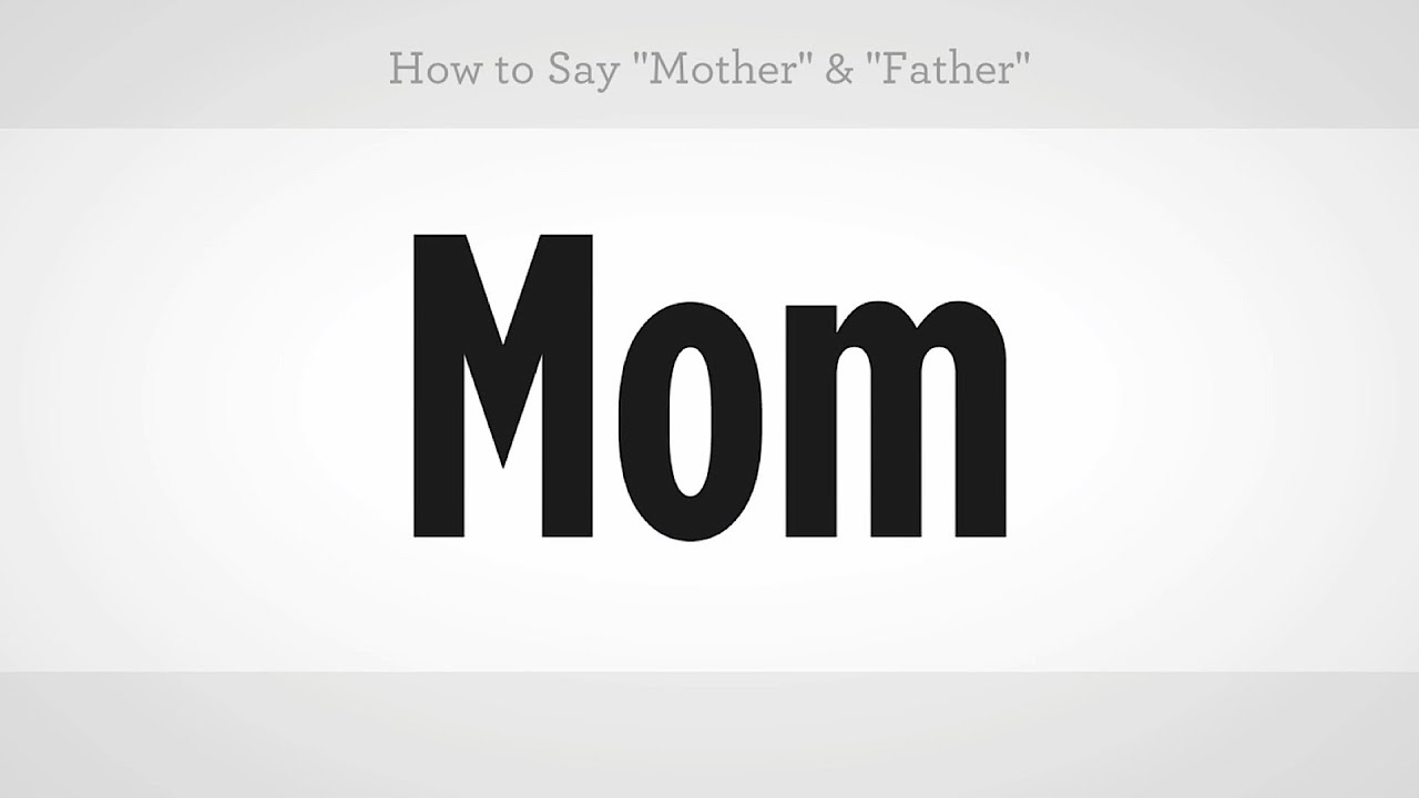 How to say mother father mandarin chinese youtube biocorpaavc