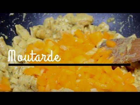 recette-blanc-de-poulet-sauce-moutarde-♡