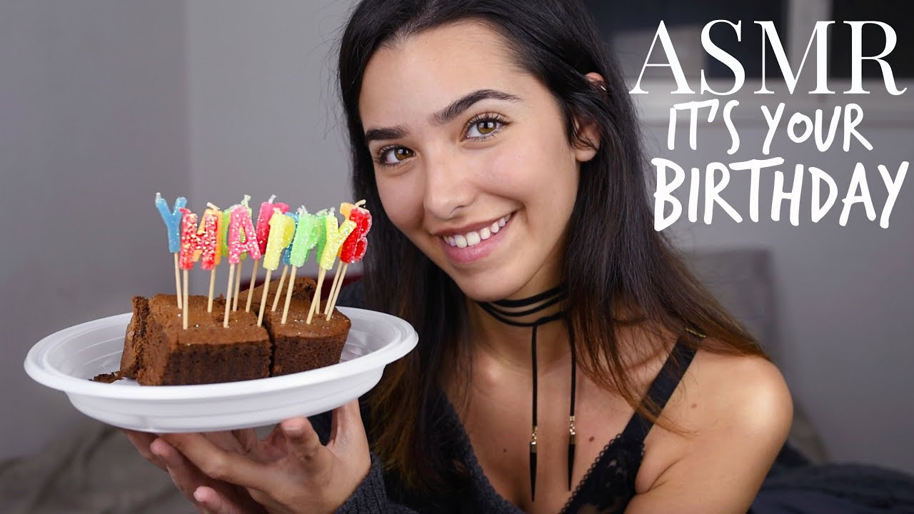 Asmr It's Your Birthday Roleplay! (personal Attention