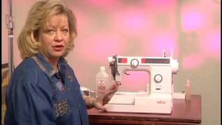 Sewing Machine Maintenance: how to clean and maintain your sewing machine.