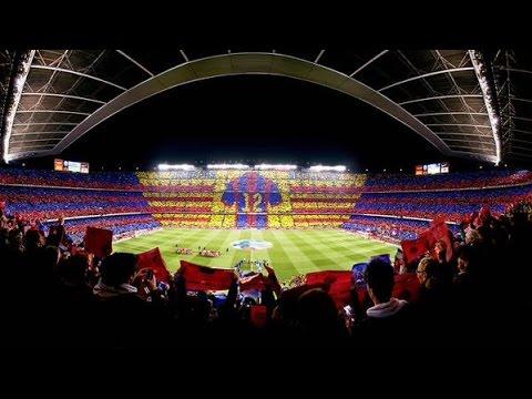 Wallpaper Real Madrid Hd Barcelona Vs Real Madrid La Liga Camp Nou Tifo 22 03 2015