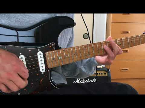 【KISS is my life】Guitar solo cover【SingTuyo】