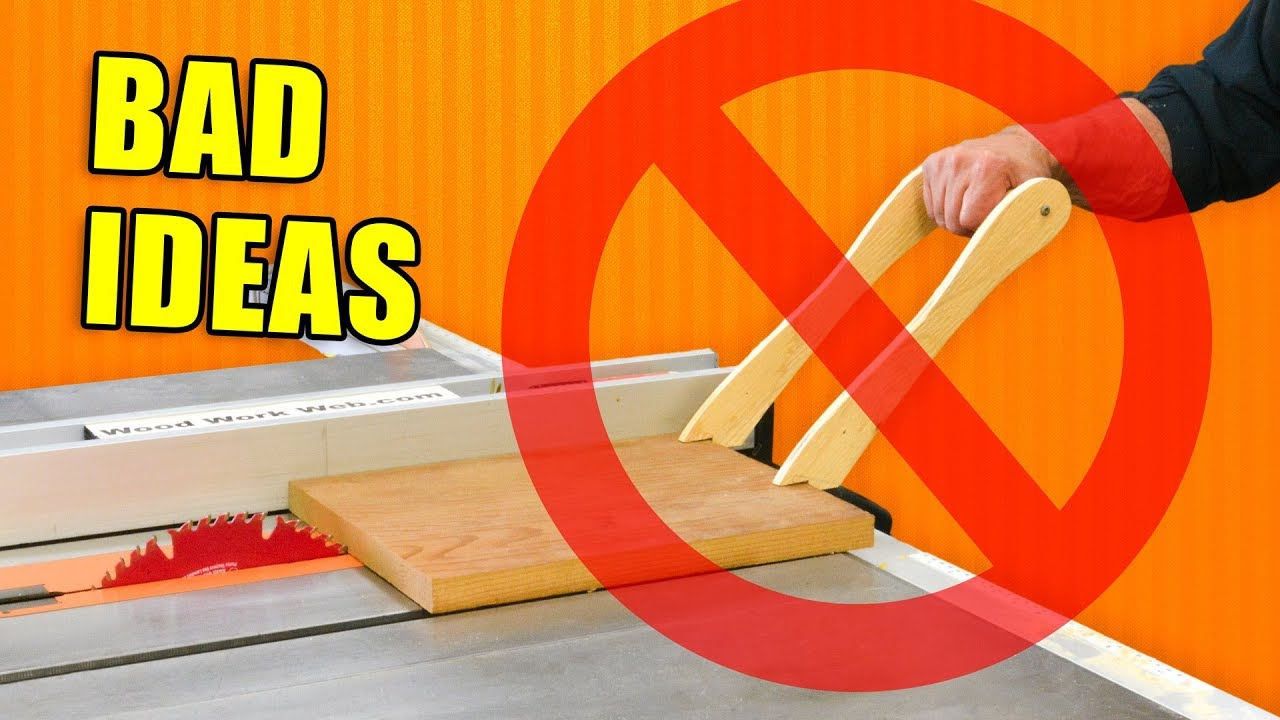 Bad Ideas In Woodworking Workshop Fails Youtube