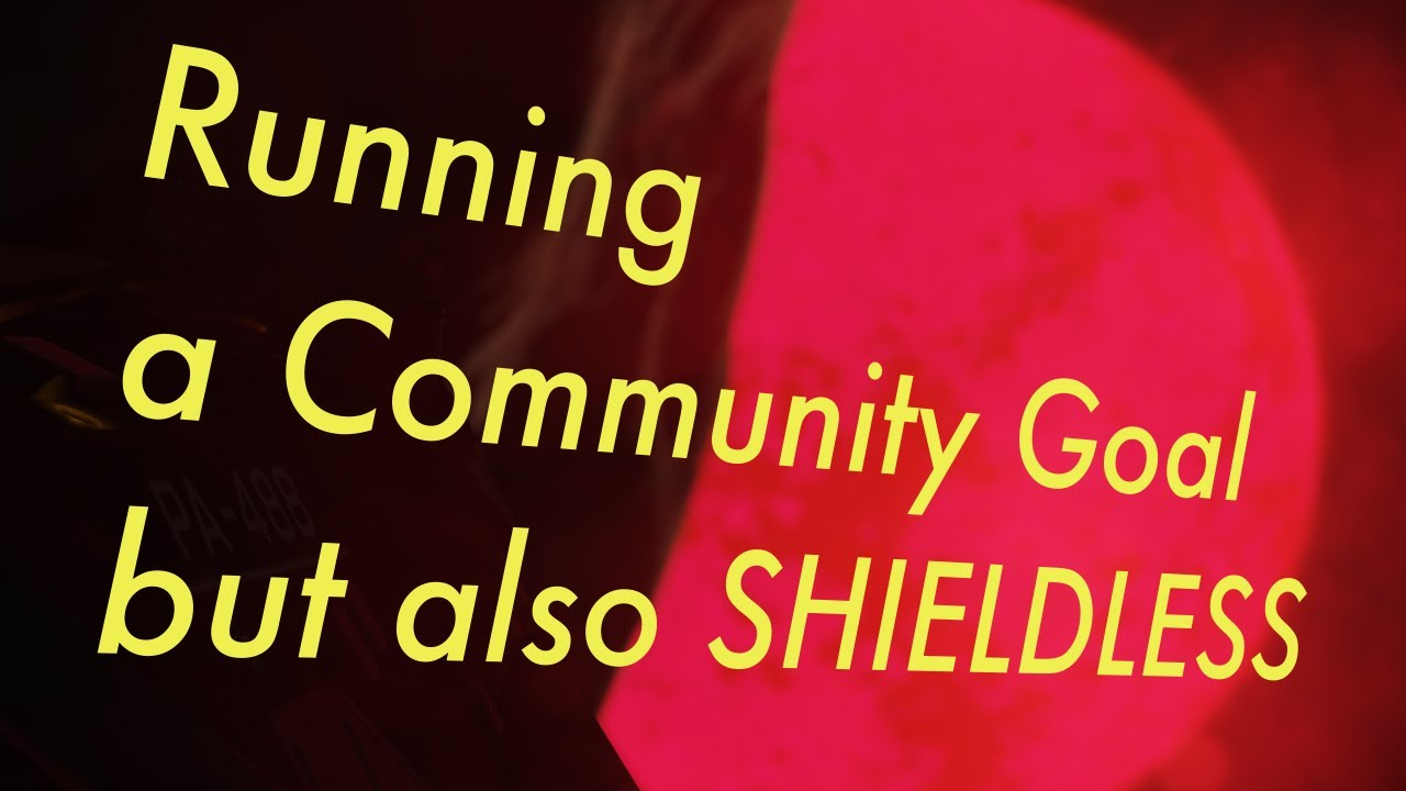 Doing the CG Shieldless   LIVE